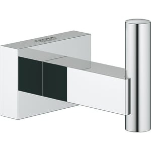 Cuier baie GROHE Essentials Cube 40511001, crom