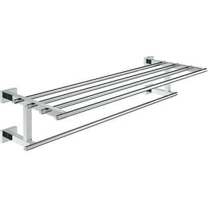Suport prosop multiplu GROHE Essentials Cube 40512001, 60cm, crom