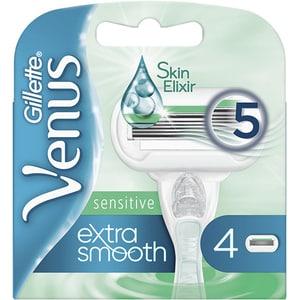 Rezerva aparat de ras GILLETTE Venus Extra Smooth Sensitive, 4 bucati