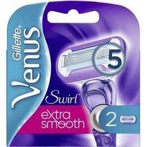 Rezerva aparat de ras GILLETTE Venus Swirl Extra Smooth, 2 bucati