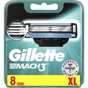 Rezerva aparat de ras GILLETTE Mach 3, 8 bucati