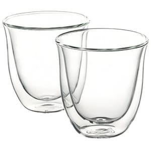 Set pahare DE LONGHI CAPUCCINO6, 6 piese, 0.19l, sticla, transparent