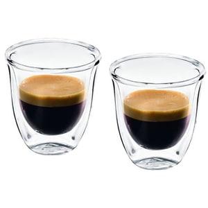 Set pahare DE LONGHI ESPRESSO6, 6 piese, 0.06l, sticla, transparent