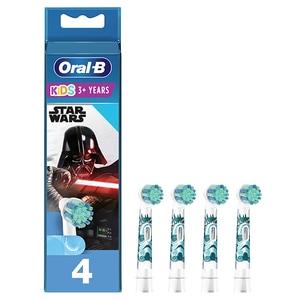 Rezerve periuta de dinti electrica pentru copii ORAL-B Star Wars, 4buc
