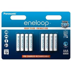 Acumulatori PANASONIC Eneloop LR03/AAA, 750mAh, 8 bucati