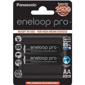 Acumulatori PANASONIC Eneloop Pro LR6/AA, 2500mAh, 2 bucati