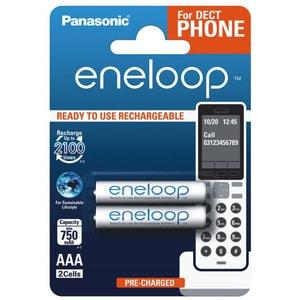Acumulatori PANASONIC Eneloop LR03/AAA, 750mAh, 2 bucati