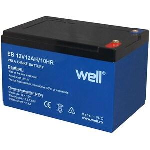Acumulator plumb acid  WELL BAT-LEADD-12V12AH-WL, 12V, 12 Ah