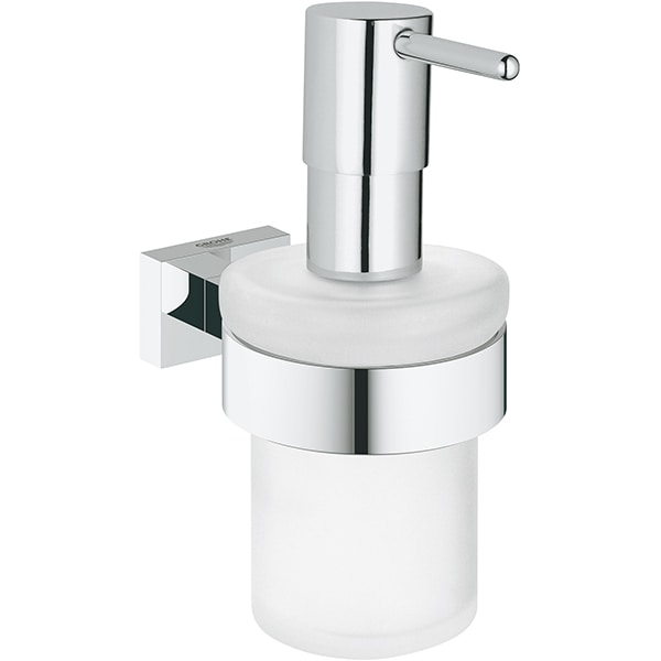 Dispenser sapun lichid GROHE Essentials Cube 40756001, 160ml, crom