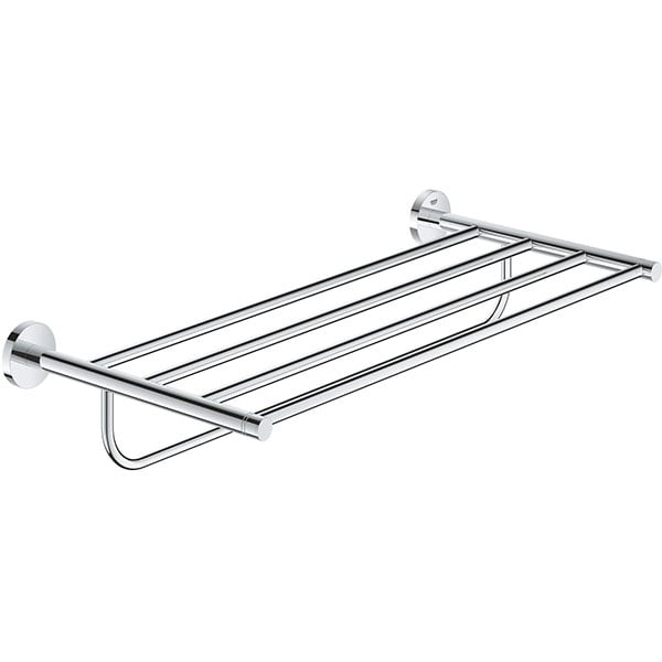 Suport prosop multiplu GROHE Essentials 40800001, 60.4cm, argintiu