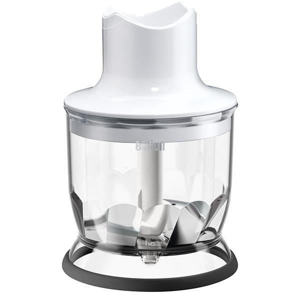 Tocator pentru mixer vertical BRAUN MQ20WH, 0.35l, alb