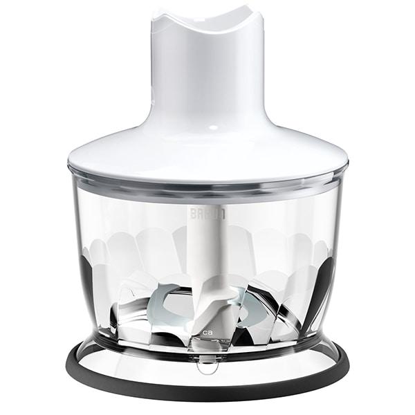 Tocator pentru mixer vertical BRAUN MQ30WH, 0.5l, alb