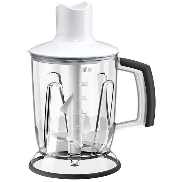 Blender pentru mixer vertical BRAUN MQ40WH, 1.25l, alb