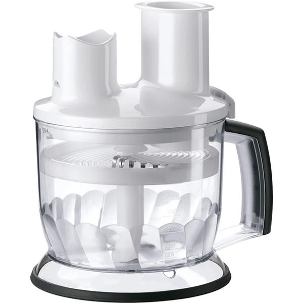 Procesor de alimente pentru mixer vertical BRAUN MQ70WH, 1.5l, alb-gri