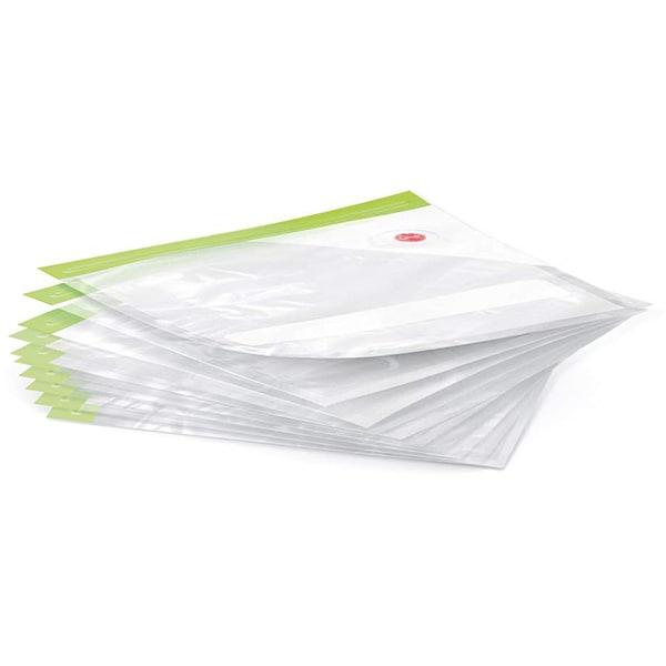Set pungi BOSCH MSZV0FB1, 1.2l, 10 buc, transparent-verde