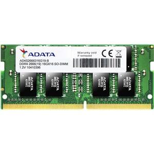 Memorie laptop ADATA 4GB DDR4, 2666MHz, CL19, AD4S2666J4G19-S