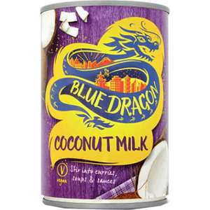 Lapte de cocos Tailandez BLUE DRAGON, 400ml, 3 bucati