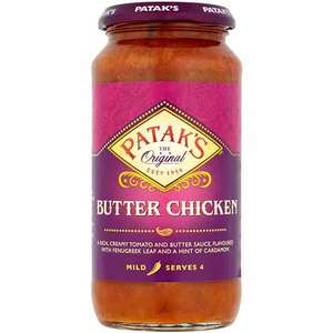 Sos butter chicken spicy PATAK'S, 450g, 3 bucati