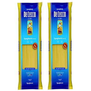 Paste Spaghetti DE CECCO, 1kg, 2 bucati