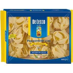Paste Nidi Semola Pappardelle DE CECCO, 500g, 3 bucati