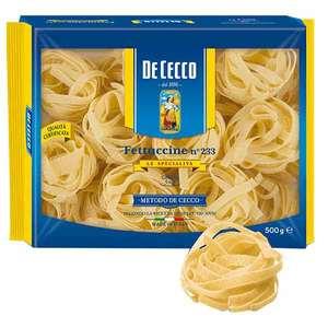 Paste Nidi Semola Fettuccine DE CECCO, 500g, 3 bucati