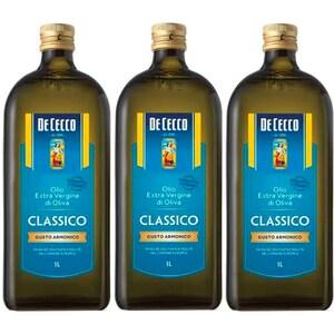 Ulei masline extravirgin DE CECCO, 250ml, 3 sticle