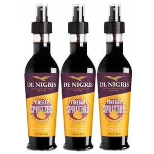Otet balsamic de modena cu aroma de portocale spray DE NIGRIS, 250ml, 3 sticle