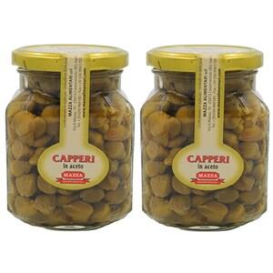 Capere in otet MAZZA, 314ml, 2 bucati