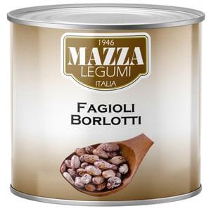 Fasole alba Borlotti MAZZA, 2500g