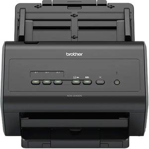 Scanner Brother ADS-2400N, A4, USB, Retea, negru