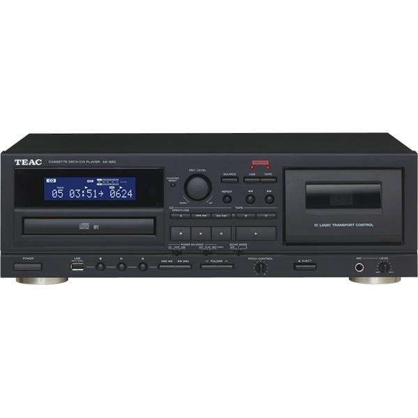 CD Player cu caseta TEAC AD-850, USB, negru