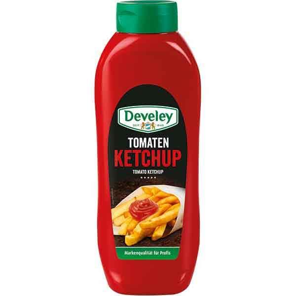 Ketchup DEVELEY, 875ml, 2 bucati
