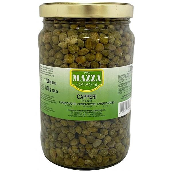Capere fructe in otet MAZZA, 1700g