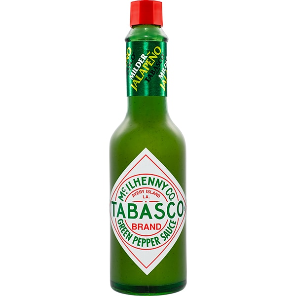 Sos ardei verde TABASCO, 60ml, 3 bucati