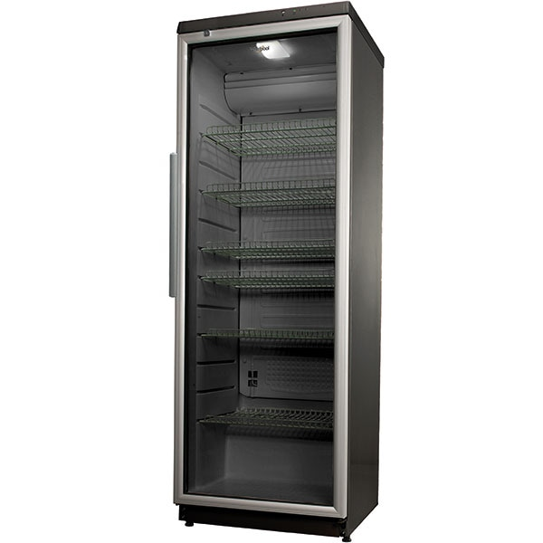 Vitrina frigorifica WHIRLPOOL ADN 201/1S, 320 l, H 173 cm, Clasa D, gri inchis