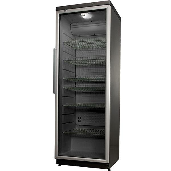 Vitrina frigorifica WHIRLPOOL ADN 203/1S, 320 l, H 173 cm, Clasa D, gri inchis