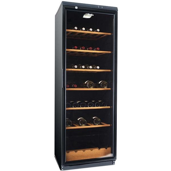 Racitor de vinuri WHIRLPOOL ADN 231 BK, 105 sticle, H 173 cm, Clasa G, negru