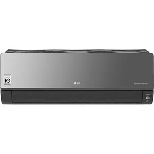 Aer conditionat LG Artcool Mirror AC24BQ, 24000 BTU, A++/A+, Wi-Fi, negru