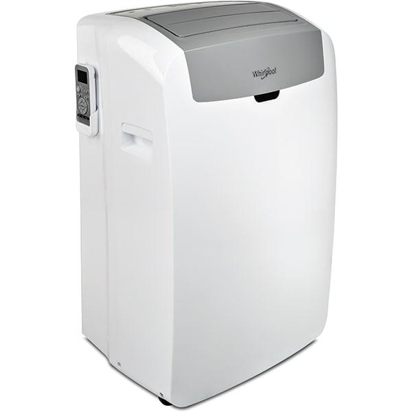 Aer conditionat portabil WHIRLPOOL PACW29HP, 9000BTU, A+, alb-gri