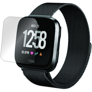 Folie protectie pentru FitBit Versa, SMART PROTECTION, display, 2 folii incluse, polimer, transparent