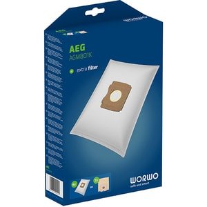 Kit WORWO AGMB01K: 4 saci + 1 filtru