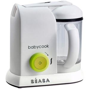 Robot de bucatarie BEABA BabyCook Solo Neon B912462, 1100ml, alb-verde deschis