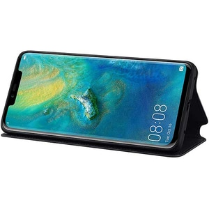 Husa Flip Wallet pentru HUAWEI Mate 20 Pro, 51992636, negru
