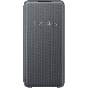 Husa LED View pentru SAMSUNG Galaxy S20 Ultra, EF-NG988PJEGEU, gri