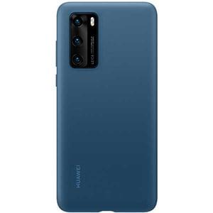 Carcasa pentru HUAWEI P40, 51993721, silicon, albastru