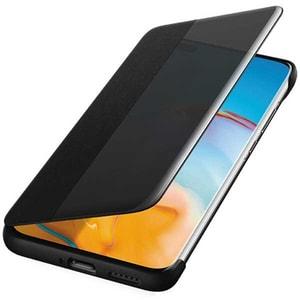 Husa Smart View Cover pentru HUAWEI P40 Pro, 51993781, transparent