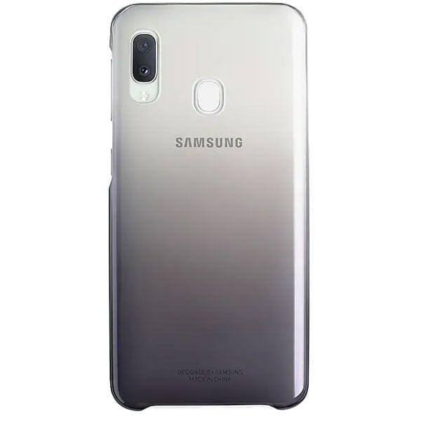 Carcasa Gradation pentru SAMSUNG Galaxy A20e EF-AA202CBEGWW, negru