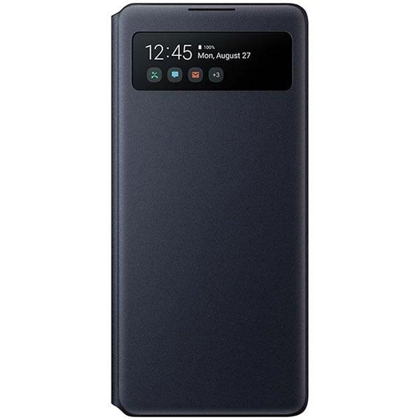 Husa S View Wallet pentru SAMSUNG Galaxy S10 Lite, EF-EG770PBEGEU, negru