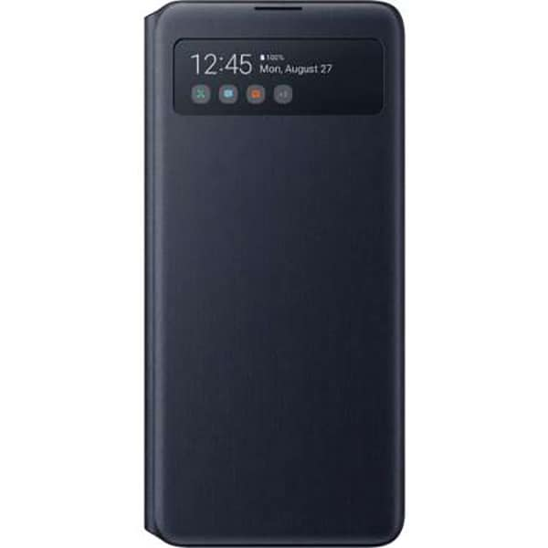 Husa S View Wallet pentru SAMSUNG Galaxy Note 10 Lite, EF-EN770PBEGEU, negru