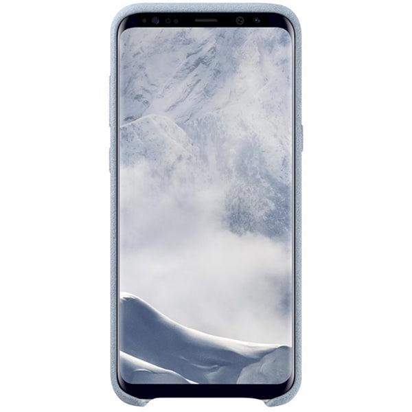 Carcasa Alcantara pentru SAMSUNG Galaxy S8 Plus, EF-XG955AMEGWW, Mint